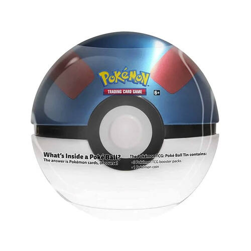 Poké Ball Tin Q121 - Great Ball