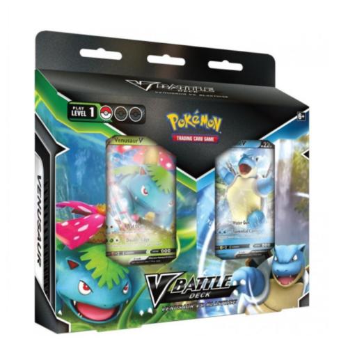 Pokémon - V Battle Deck Bundle (Blastoise vs Venusaur)