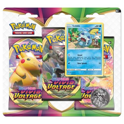 Vivid Voltage 3 Pack Blister - Sobble