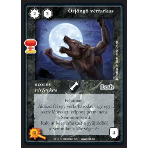 Őrjöngő vérfarkas (új)