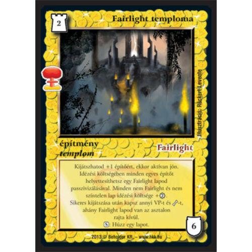Fairlight temploma (új)