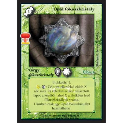 Opál fókuszkristály