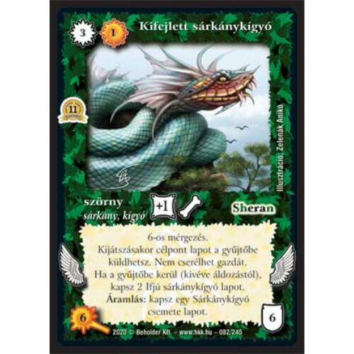 Kifejlett sárkánykígyó (2020)